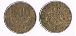 Costa Rica  - 500 Colones- 2007 - Costa Rica