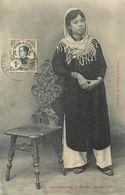 CPA Asie Viet Nam Hô Chi Minh-Ville Cochinchine Saïgon Jeune Fille Indochine Stamp Timbre - Vietnam