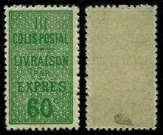 France Colis-Postaux N° 32 Neuf ** Signé Calves Superbe Qualité - Cote 150 Euros - Mint/Hinged