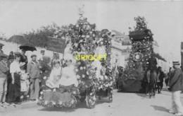 85 Les Sables D'Olonne, Carte Photo Du Corso Fleuri, Août 1907, N° 5 - Sables D'Olonne
