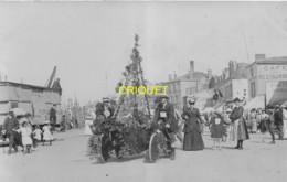 85 Les Sables D'Olonne, Carte Photo Du Corso Fleuri, Août 1907, N° 3 - Sables D'Olonne