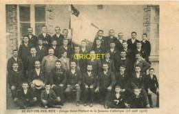 85 Beauvoir Sur Mer, Groupe St Philbert, Août 1908, Carte Pas Courante - Beauvoir Sur Mer
