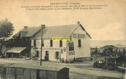 85 Fromentine, Station Estivale..., Vue De La Gare Et De L'Hotel De Fromentine - France