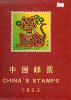 Chine-China-Cina- 10 Années Complètes Dans Leur Emboitage-1998/2004 A 2012.Plus L'Album Of The XXIX Olympiad. - Verzamelingen & Reeksen