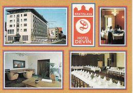 Slovakia, Bratislava, Hotel Devin 1979,  Unused - Slovakia
