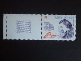 N°3287a - Chopin - BLEU Absent - Signé CALVES - Bord De Feuille - RARE - LUXE** - Nuevos