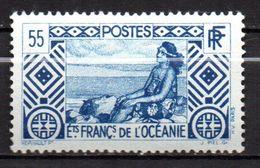Col17  Colonie Océanie N° 100 Neuf X MH Cote 7,50€ - Ozeanien (1892-1958)
