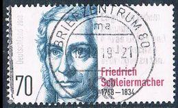 2018  250. Geburtstag Von Friedrich Schleiermacher - Oblitérés