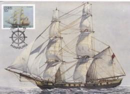 AT13 Ciskei Maximum Card, Troop Ship Salisbury - Ciskei