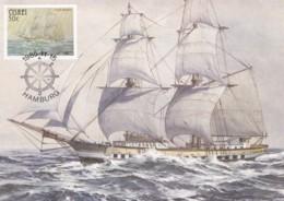 AT13 Ciskei Maximum Card, Troop Ship Olive Branch - Ciskei
