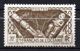 Col17  Colonie Océanie N° 120 Neuf X MH Cote 3,30€ - Ozeanien (1892-1958)