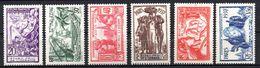Col17  Colonie Océanie N° 121 à 126 Neuf X MH Cote 31,00€ - Unused Stamps