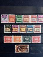 AEF . 1937 à 1946.  TAXES .16 NEUFS  . Côte Yvert  14,80 € - A.E.F. (1936-1958)