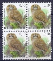 BELGIE * Buzin * Nr 3956 * Postfris Xx * HELDER WIT  PAPIER - 1985-.. Pájaros (Buzin)