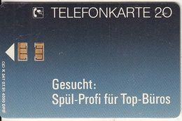 GERMANY - Siemens/Geschirrspuler(K 347), Tirage 4000, 07/91, Used - Deutschland