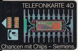 GERMANY - Siemens/Geschirrspuler(K 192), Tirage 21000, 12/90, Used - Deutschland