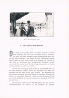 284 E.T.Compton Paul Hey Zürich Luzern Artikel Mit 3 Bildern 1896 !! - Suiza