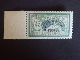 N°44 - Type Merson - LUXE** - Gomme D'origine - Bord De Feuille - 1893-1947