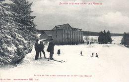 SAISON D' HIVER DANS LES VOSGES  -  Partie De Ski à Une Altitude De 1120m  ( Lac Blanc ) - France