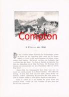 285 E.T.Compton Paul Hey Pilatus Rigi Artikel Mit 5 Bildern 1896 !! - Suiza