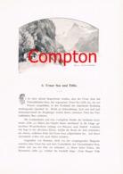 286 E.T.Compton Paul Hey Titlis Urner See Artikel Mit 7 Bildern 1896 !! - Suiza