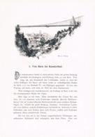 287 E.T.Compton Paul Hey Bern Kandertal Thun Artikel Mit 6 Bildern 1896 !! - Suiza