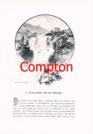 291 E.T.Compton Paul Hey Genfer See Andermatt Artikel Mit 11 Bildern 1896 !! - Suiza