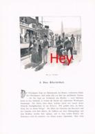 292 E.T.Compton Paul Hey Reintal Chur Davos Ragaz Artikel Mit 9 Bildern 1896 !! - Suiza