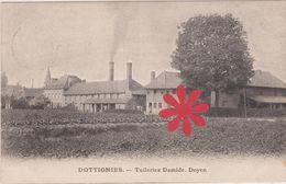 Moeskroen-Mouscron Dottignies  Tuileries Damide.Doyen / Relais Marcke 1909 - Moeskroen