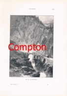 294 E.T.Compton Paul Hey Gotthard Bellinzona Artikel Mit 5 Bildern 1896 !! - Suiza