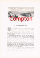 296 E.T.Compton Como Luganer See Lago Maggiore Artikel Mit 8 Bildern 1896 !! - Suiza