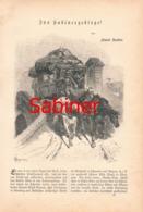 301 Sabiner Berge Monti Sabin Abruzzen  Artikel Mit 17 Bildern 1883 !! - Italia