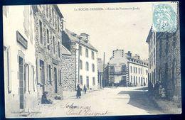 Cpa  Du 22 La Roche Derrien Route De Pommerit Jaudy     ---  Près Tréguier  AVR20-147 - Tréguier