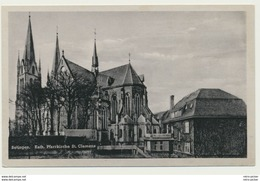 AK  Solingen Katholische Pfarrkirche St. Clemens - Solingen