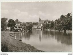 AK  Tübingen Untere Neckarpartie Mit Stiftskirche 1958 - Tuebingen