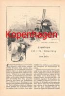 307 Egon Zöller Kopenhagen Und Umgebung Artikel Von 1883 !! - Dinamarca