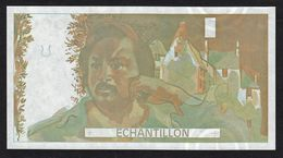 Probedruck Testbanknote Specimen Frankreich 1988 Echantillion Balzac - Specimen