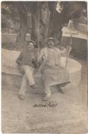 Beaulieu Sur Mer 1904 Arbre Olivier Le Jardinier Carte Photo ETAT ! - Beaulieu-sur-Mer