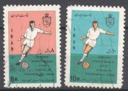 Iran 1968 Used Football, Soccer, Final Of The Asian Football Championship - Iran