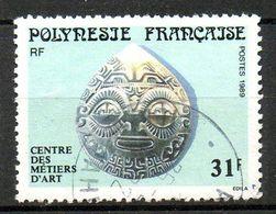 POLYNESIE. N°325 Oblitéré De 1989. Pendentif En Nacre. - Polynésie Française