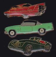 65431-Lot De 3 Pin's.Automobile.voiture. - Pin