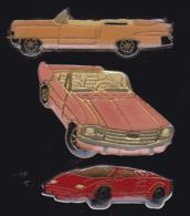 65432-Lot De 3 Pin's.Automobile.voiture. - Pin