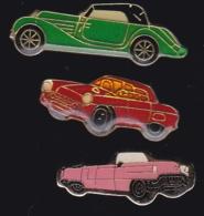 65433-Lot De 3 Pin's.Automobile.voiture. - Pin