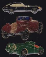 65434-Lot De 3 Pin's.Automobile.voiture. - Pin