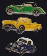 65435-Lot De 3 Pin's.Automobile.voiture. - Pin