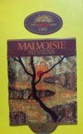 11547 - Malvoisie Du Valais 1982 Caves Imesch Sierre - Etiketten