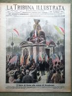 La Tribuna Illustrata 20 Maggio 1917 WW1 Reticolati Strasburgo Coni Zugna Mondo - Guerre 1914-18