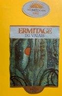 11548 - Ermitage Du Valais 1982 Caves Imesch Sierre - Etiketten