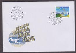 99.- SWITZERLAND 2020  100 Years Geneva Airport - Airplanes