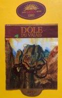 11551 - Dôle Du Valais 1982 Caves Imesch Sierre - Etiketten